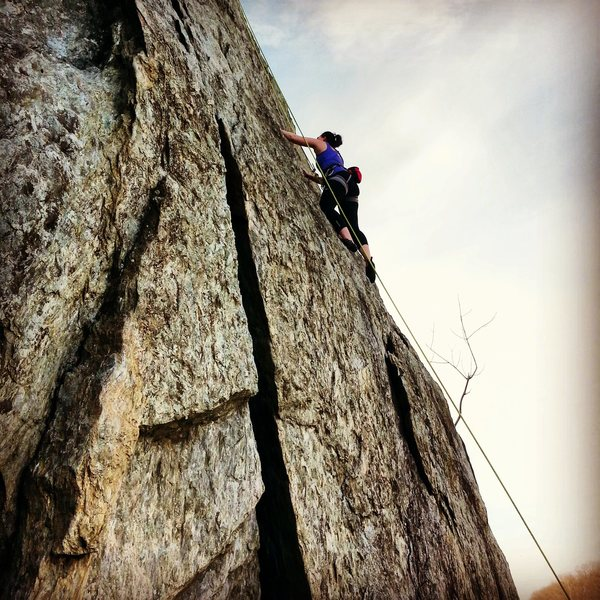 Rock Climbing Photo: Great Valley, VA - March 2014