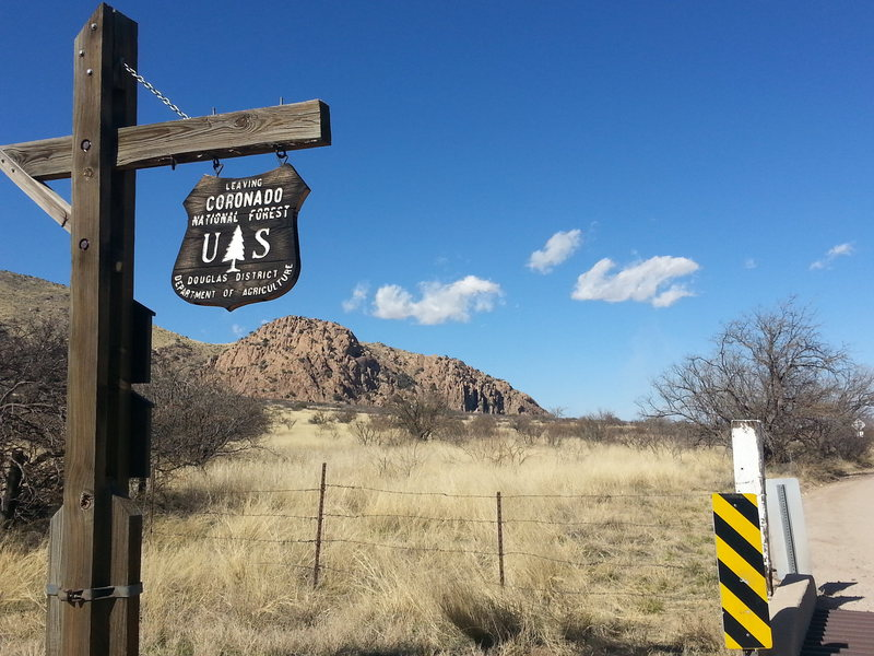 Cochise Stronghold - March 2014