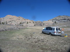 Rock Climbing Photo: You may need to winch at Stuffed Valley parking in...