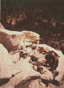 Rock Climbing Photo: Mike Fogarty  & Tracy Dorton El Capitan, Mammoth T...