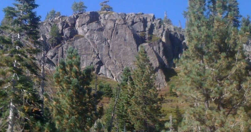Rock Climbing Photo: Freeway Slabs as seen from I-80