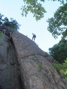 Rock Climbing Photo: It's a poor photo, but it's all I've got. Unhappy ...