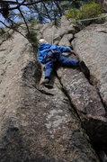 Rock Climbing Photo: Happy Cracks