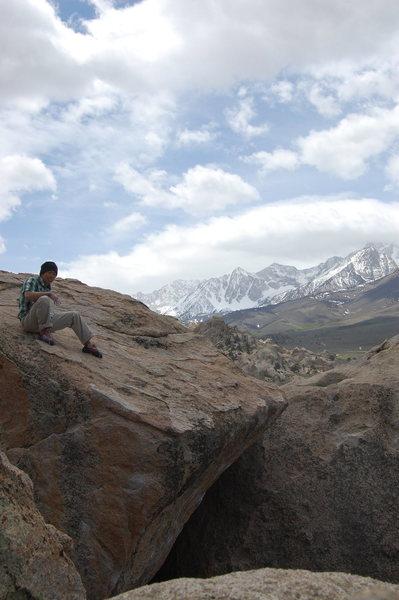 Rock Climbing Photo: Taking it all in...