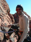 Rock Climbing Photo: A fine day at Red Rocks.