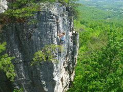Rock Climbing Photo: The Turret and view