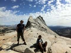Rock Climbing Photo: The end of Mathis Crest