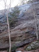 "Rock Climbing Photo: Pillars of Dickulese - The ""Pillars"" are..."