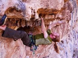 "Rock Climbing Photo: Luke demonstrates his virility on ""Flying Coc..."