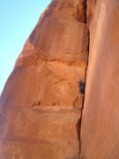 Rock Climbing Photo: 3rd Pitch, beware the 10+ rating