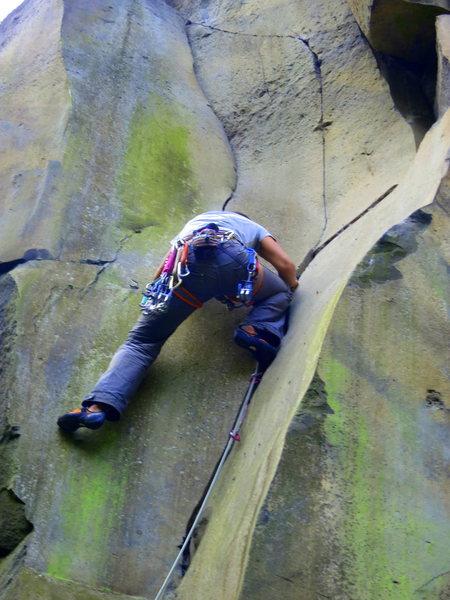 Climbing the line