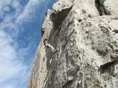 Rock Climbing Photo: top roping corn flakes