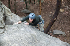 Rock Climbing Photo: on-sighting with care