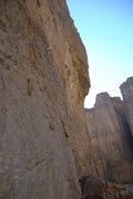 Rock Climbing Photo: At the top of a 5.11A, setting up an anchor to pra...