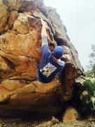 Rock Climbing Photo: Moving through Accidental Detox.