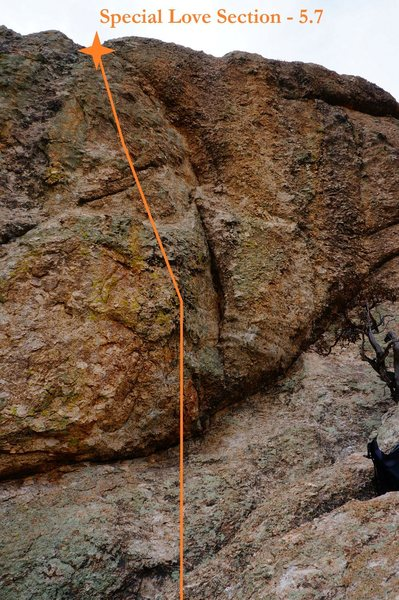 Rock Climbing Photo: Special Love Section (May 2014)