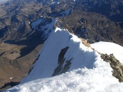 Rock Climbing Photo: The summit ridge