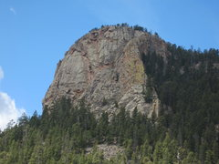 Rock Climbing Photo: Lion's Head at Stauton State Park from the Elk Fal...