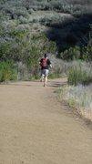 Rock Climbing Photo: A Park user enjoying the solitude.