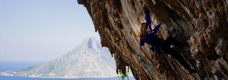 Rock Climbing Photo: Ivi - Grande Grotta Kalymnos.  Taken by Liam Murph...