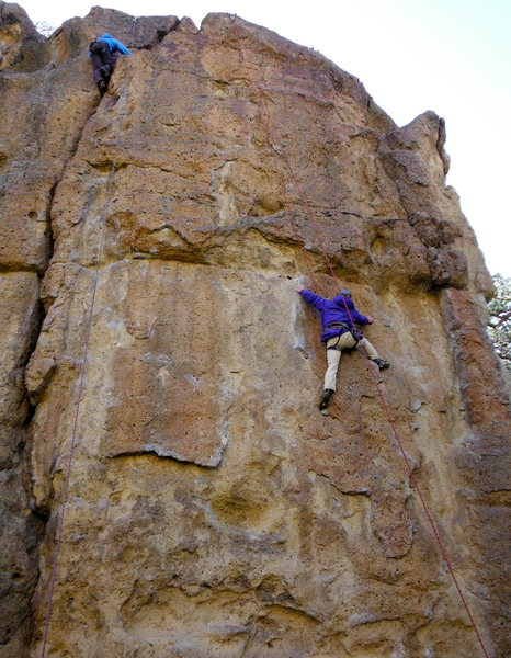 rope da dope at smith rock