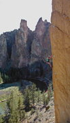 Rock Climbing Photo: Another pic from smith rock, OR