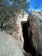 Rock Climbing Photo: Not a very good picture cause the wall that you tr...