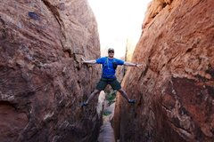 Rock Climbing Photo: Arches NP