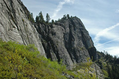 Rock Climbing Photo: Looking over towards the Main Wall from the East W...