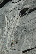Rock Climbing Photo: Unknown climbers on 'Haystack'