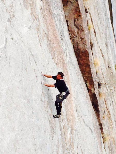 Rock Climbing Photo: Mike Fogarty Falling Sherkin