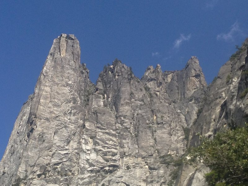 W face of Sentinel and the S arête.