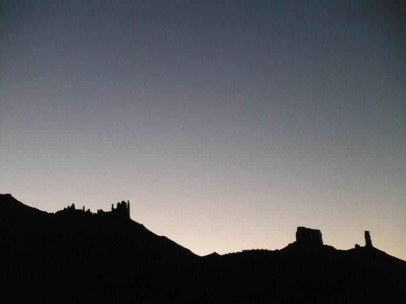Rock Climbing Photo: 'mornin' Sista