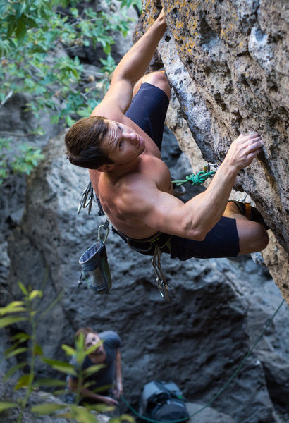 Rock Climbing Photo: The Drifter 12a at malibu