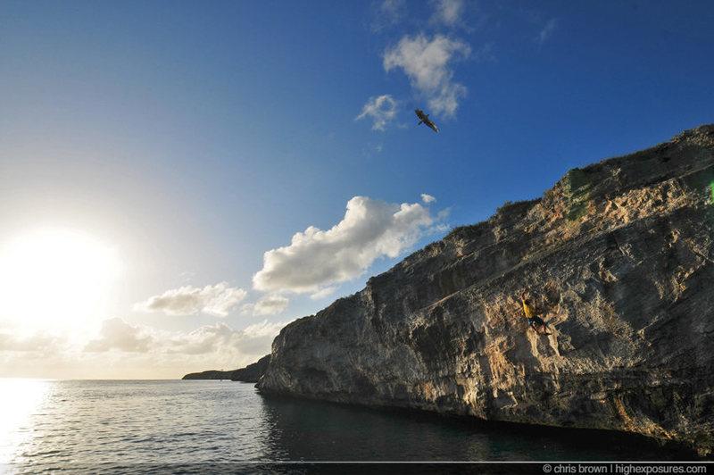 Hatchet Bay climbing