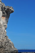Rock Climbing Photo: These cliffs are big