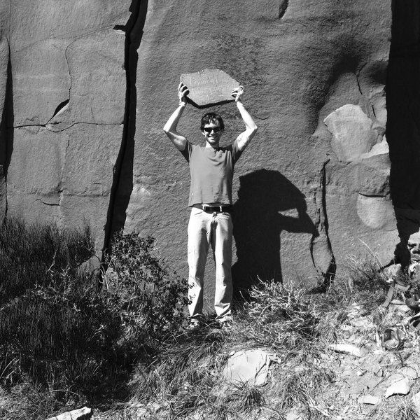 Rock Climbing Photo: Immoral Disapproval, post climb.