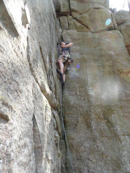 Rock Climbing Photo: Isaac