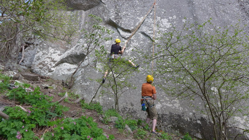 Rock Climbing Photo: At the start