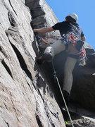 Rock Climbing Photo: Smaller cams work well.