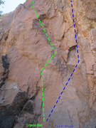 Rock Climbing Photo: Crystal Ball & Power House