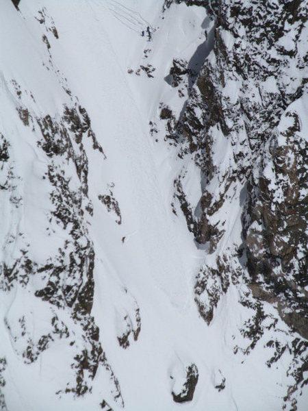 Rock Climbing Photo: Tyndall sluff.