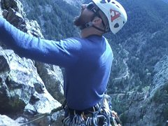 Rock Climbing Photo: Final belay station on Rewritten