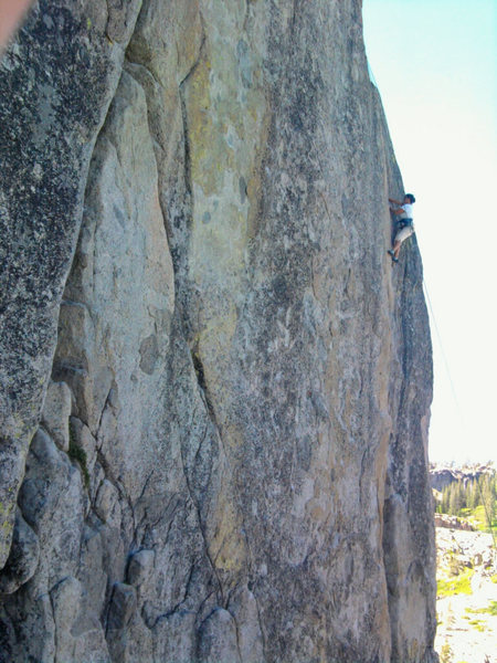 Rock Climbing Photo: Angie Price @ crux. Thin hands/loose fingers for s...