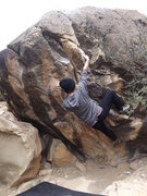 Rock Climbing Photo: Short & easy problem riddled with jug holds :)