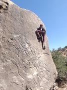 Rock Climbing Photo: Kent on Michelangelo
