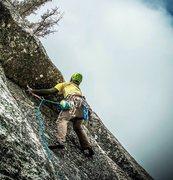Rock Climbing Photo: Lip up Fatty Direct!!!