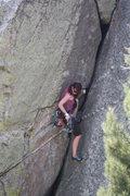 Rock Climbing Photo: Z gear is somewhere . . .