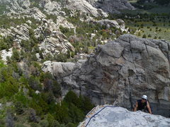 Rock Climbing Photo: Something to be said for climbing classics on a Mo...