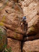 Rock Climbing Photo: Ryan gunning up the #5 start. Ugh! :)  July 2013